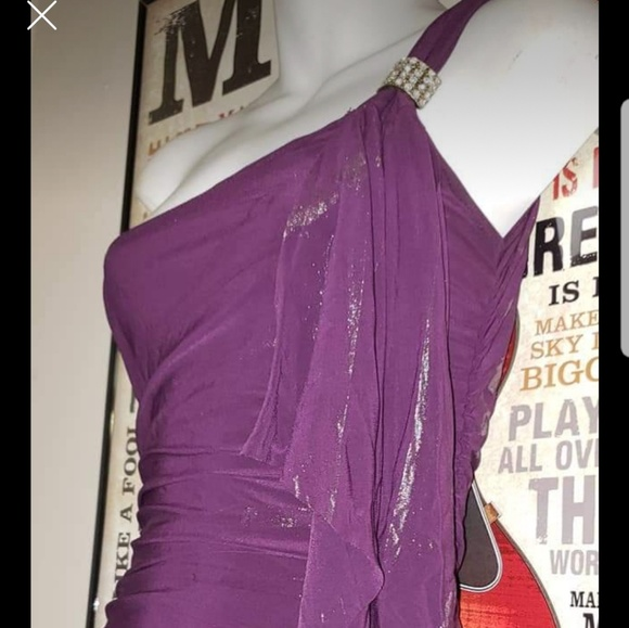 Forever 21 Dresses & Skirts - Small sexy purple dress for a night out